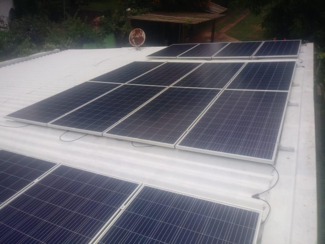 Energia solar residência em Ribeirão Preto SP