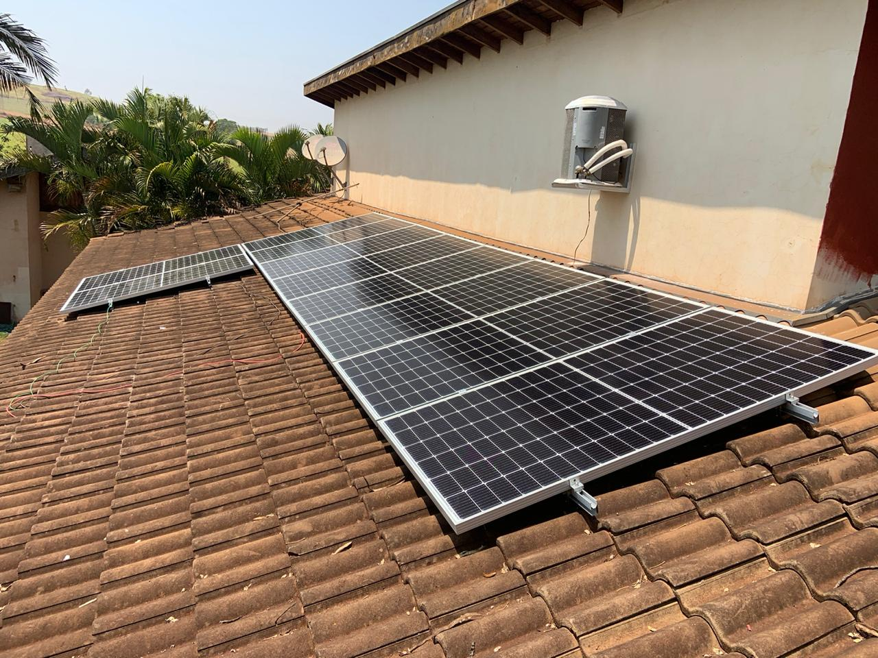 Energia Solar Chácara Pau Brasil